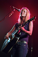country singer allison moorer performing live