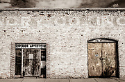 Abandoned storefronts on SE Market St. in downtown Reidsville, NC.