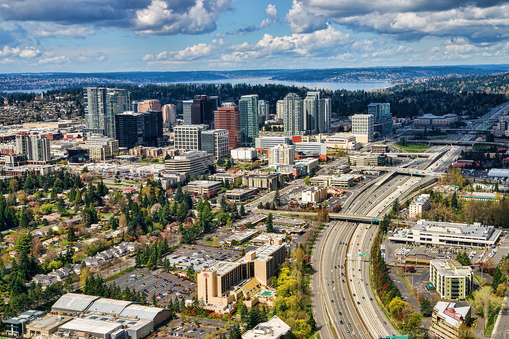 Downtown Bellevue & Interstate 405