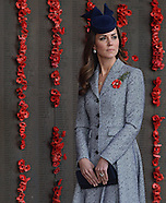 KATE & Prince William Attend ANZAC Service 1