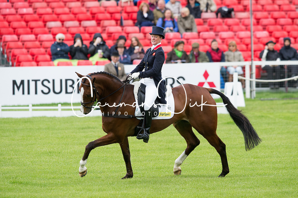 Wilson Nicola, (GBR), One Two Many<br /> Dressage <br /> Mitsubishi Motors Badminton Horse Trials - Badminton 2015<br /> &copy; Hippo Foto - Jon Stroud<br /> 07/05/15