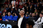 Calbini Paolo<br /> Openjobmetis Varese - Carpegna Prosciutto Basket Pesaro<br /> Basket Serie A LBA 2019/2020<br /> Varese 15 December 2019<br /> Foto Mattia Ozbot / Ciamillo-Castoria