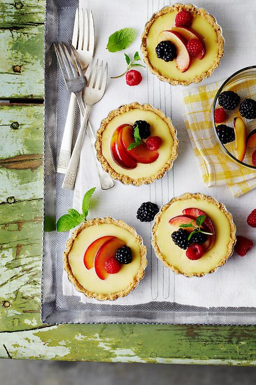 Lemon Marscapone Tarts