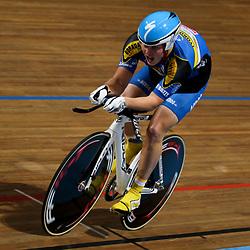 Jan Willem Welter werd tweede op de kilomter voor junioren