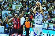 DESCRIZIONE : Sassari Lega A 2012-13 Dinamo Sassari Angelico Biella<br /> GIOCATORE : Drake Diener<br /> CATEGORIA : Tiro<br /> SQUADRA : Dinamo Sassari<br /> EVENTO : Campionato Lega A 2012-2013 <br /> GARA : Dinamo Sassari Angelico Biella<br /> DATA : 30/09/2012<br /> SPORT : Pallacanestro <br /> AUTORE : Agenzia Ciamillo-Castoria/M.Turrini<br /> Galleria : Lega Basket A 2012-2013  <br /> Fotonotizia : Sassari Lega A 2012-13 Dinamo Sassari Angelico Biella<br /> Predefinita :
