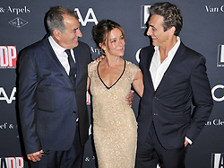 (L-R) Kenny Ortega, Jennifer Grey and Lawrence Bender arrives at the L.A. Dance Project's Annual Gala held at LA Dance Project in Los Angeles, CA on Saturday, October 7, 2017. (Photo By Sthanlee B. Mirador/Sipa USA)