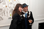 ANNIE MORRIS;  RAQIB SHAW, There is a Land Called Loss | Annie Morris | Pertwee Andersen and Gold, in association with Adam Waymouth Art , Private View, 15 bateman st. W1 2nd February 2012