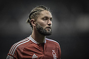 Nottingham Forest midfielder Henri Lansbury (10) during the EFL Sky Bet Championship match between Nottingham Forest and Newcastle United at the City Ground, Nottingham, England on 2 December 2016. Photo by Jon Hobley.