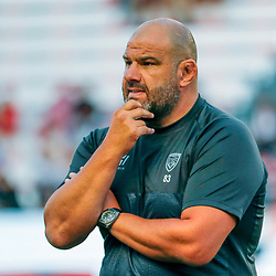 Patrice Collazo coach of Toulon during Top 14 match between Toulon and Racing 92 on August 25, 2018 in Toulon, France. (Photo by Henri/Icon Sport)