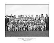 All Ireland Football Final minors Dublin v Tipperary 25th September 1955 .Tipperary Minor football team. All Ireland finalists...25.09.1955. 09.25.1955, 25th September 1955