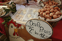 The Saturday market in Uzès, Languedoc, France..October 6, 2007..Photo by Owen Franken for the NY Times...Assignment ID: 30049869A