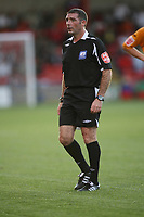 Photo: Rich Eaton.<br /> <br /> Crewe Alexandra v Hull City. Carling Cup. 15/08/2007.  referee Mr Miller who awarded a first half penalty to Hull.