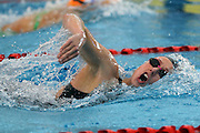 Laura Quilter, womens 200m freestyle, New Zealand Short Course Swimming Championships, Sir Owen G. Glenn National Aquatic Centre, AUT Millennium, Auckland. 11 August 2015. Copyright Photo: William Booth / www.photosport.nz