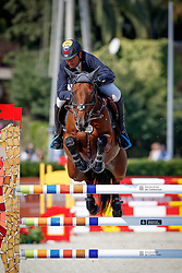 Lopez Rene (COL) - Polissonne Des Neyes<br /> Class 1 - Coca Cola Trophy<br /> Furusiyya FEI Nations Cup Jumping Final<br /> CSIO Barcelona 2013<br /> © Dirk Caremans