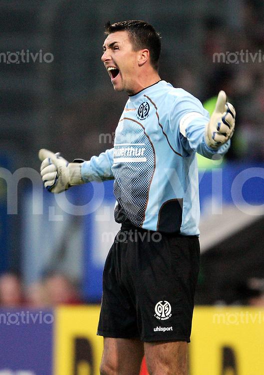 Fussball  1. Bundesliga Saison 2004/2005    Torwart Dimo WACHE FSV Mainz 05