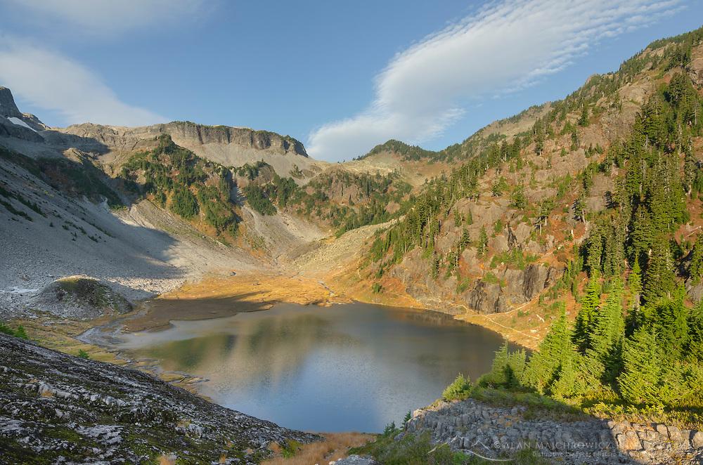 Bagley Lake. Heather Meadows Recreation Area, North Cascades Washington