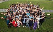 Photo by Mara Lavitt<br /> New Haven, CT<br /> July 10, 2016<br /> Global Health Corps photographed on Yale University's Cross Campus.