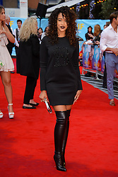 Image ©Licensed to i-Images Picture Agency. 12/08/2014. London, United Kingdom. <br /> Tamera Foster attends the What If - UK film premiere. Leicester Square. Picture by Chris Joseph / i-Images