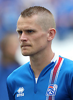 Uefa - World Cup Fifa Russia 2018 Qualifier / <br /> Iceland National Team - Preview Set - <br /> Ari Freyr Skulason