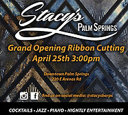 Stacy's Palm Springs Opening