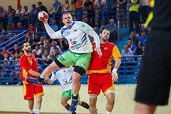 Gaber Matej of Slovenia during friendly match between Slovenia and Montenegro in Skofja Loka, Slovenia on 8th of June, 2017 .Photo by Grega Valancic / Sportida