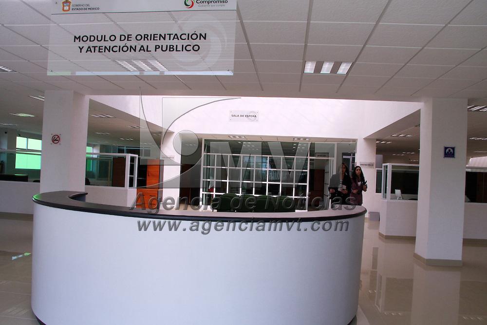 VILLA GUERRERO, México.- Instalaciones del centro de justicia en Villa Guerrero, que fue entregado por el gobernador del Estado de México, Enrique Peña Nieto. Agencia MVT / José Hernández. (DIGITAL)