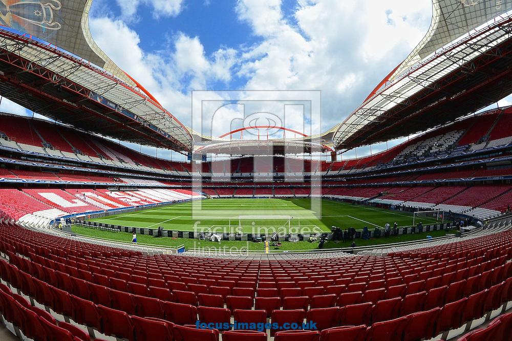 General Views of Est&aacute;dio da Luz, Lisbon<br /> Picture by Ian Wadkins/Focus Images Ltd +44 7877 568959<br /> 23/05/2014