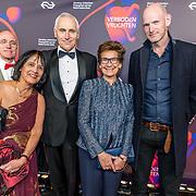 NLD/Amsterdam/20170324 - Boekenbal 2017, oa Arthur Japin en Janine van den Ende - Klijburg