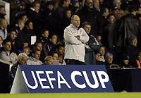 Photo: Olly Greenwood.<br />Tottenham Hotspur v Club Brugge. UEFA Cup. 02/11/2006. Spurs manager Martin Jol