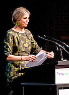 20-4-2016 AMSTERDAM - Queen Maxima hold Wednesday, April 20 the opening speech at the two-day symposium &quot;The Netherlands-OECD Global Symposium on Financial Resilience Throughout Life 'at the Beurs van Berlage in Amsterdam. This conference is an initiative of the International Network on Financial Education (INFE) of the Organisation for Economic Co-operation and Development (OECD) and platform Wiser in money matters. COPYRIGHT ROBIN UTRECHT<br /> 20-4-2016 AMSTERDAM - Koningin Maxima houdt woensdag 20 april de openingstoespraak bij het tweedaagse symposium 'The Netherlands-OECD Global Symposium on Financial Resilience Throughout Life' in de Beurs van Berlage in Amsterdam. Deze conferentie is een initiatief van het International Network on Financial Education (INFE) van de Organisatie voor Economische Samenwerking en Ontwikkeling (OESO) en platform Wijzer in geldzaken. COPYRIGHT ROBIN UTRECHT