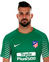 Spain - La Liga Santander 2017-2018 / <br /> ( Atletico de Madrid ) - <br /> Miguel Angel Moya Rumbo