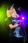 White Lung performing at Fun Fun Fun Fest, Austin, Texas, November 9, 2013.