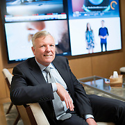 May 28, 2015 - Stamford, CT : Charter Communications CEO Thomas Rutledge poses for a portrait in the company's Stamford, Conn. office on Thursday morning, May 28.  Charter made news on Tuesday, when it announced a pair of deals to acquire Time Warner Cable and Bright House Networks. CREDIT: Karsten Moran for The New York Times