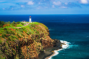 Kilauea Lighthouse, Kilauea National Wildlife Refuge, Kilauea, Kauai, Hawaii USA