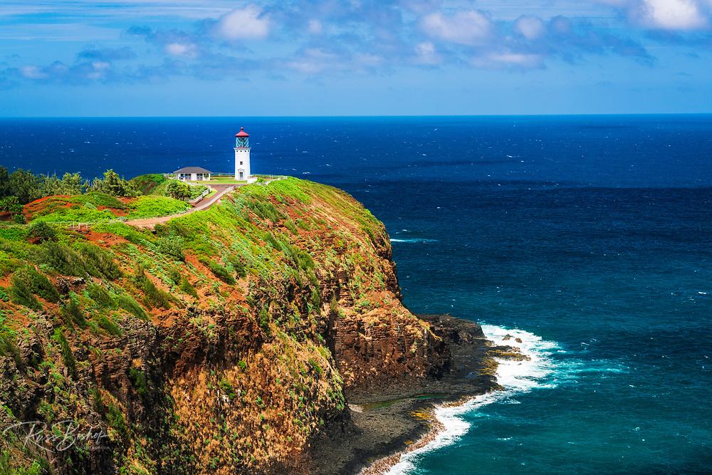 Kilauea Lighthouse, Kilauea National Wildlife Refuge, Kilauea, Kauai, Hawaii USA