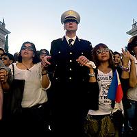 Comunità filippina in preghiera  in ricordo di Corazon Abordo Perez