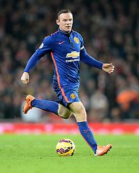 Manchester United's Wayne Rooney - Photo mandatory by-line: Alex James/JMP - Mobile: 07966 386802 - 22/11/2014 - Sport - Football - London - Emirates Stadium - Arsenal v Manchester United - Barclays Premier League