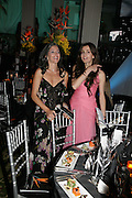 NADA WYNN AND MRS. MARWAN CHATILLA, Grosvenor House Art & Antiques Fair charity gala evening in aid of Coram Foundation. Grosvenor House. Park Lane. London. 14 June 2007.  -DO NOT ARCHIVE-© Copyright Photograph by Dafydd Jones. 248 Clapham Rd. London SW9 0PZ. Tel 0207 820 0771. www.dafjones.com.