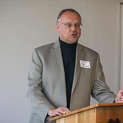 Roger Rennekamp at the Center for Cooperatives reception at the OSU 4H Center in Columbus, Ohio Wednesday October 18th, 2017. (Christina Paolucci, photographer)