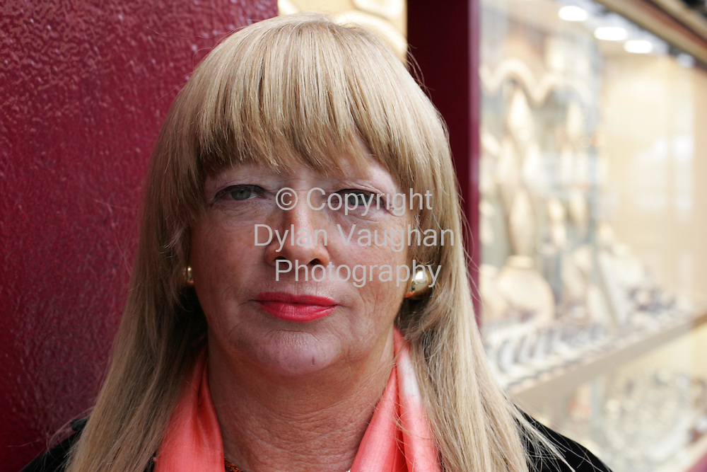 11/3/2006.Ann Ryan pictured in Kilkenny..Picture Dylan Vaughan.