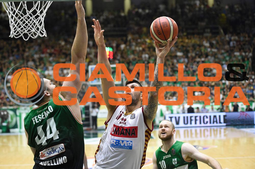 Batista Esteban<br /> Sidigas Avellino - Umana Reyer Venezia<br /> Lega Basket Serie A 2016-2017<br /> Playoff Semifinale Gara 6<br /> Avellino 05/06/2017<br /> Foto Ciamillo-Castoria