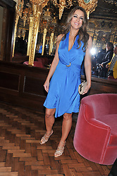 ELIZABETH HURLEY at the 50th birthday party for Patrick Cox held at the Café Royal Hotel, 68 Regent Street, London on 15th March 2013.
