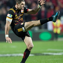 Stephen Donald during game 6 of the British and Irish Lions 2017 Tour of New Zealand,The match between  The Chiefs and British and Irish Lions, FMG Stadium, Hamilton, Tuesday 20th June 2017<br /> (Photo by Kevin Booth Steve Haag Sports)<br /> <br /> Images for social media must have consent from Steve Haag