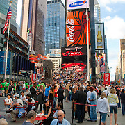 Times Square at daytime. New York city.USA.