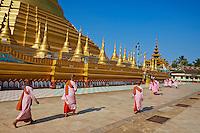 Myanmar (Birmanie), Pegu (Bago), la pagode Shwemawdaw // Myanmar (Burma), Pegu or Bago, Shwemawdaw pagoda