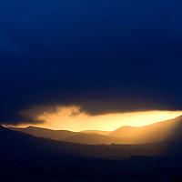 Mystical golden sunrise ring of kerry ireland /kr041