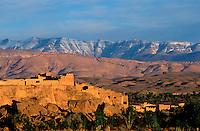 Maroc - Haut Atlas - Vallée du Dadès - Kasbah à El Kelâa M'Gouna