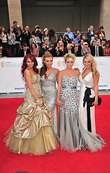 © licensed to London News Pictures. London, UK  22/05/11 Essex Girls attends the BAFTA Television Awards at The Grosvenor Hotel in London . Please see special instructions for usage rates. Photo credit should read AlanRoxborough/LNP