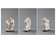Professional photographs of sculpture, 3 sides. Artwork copy for gallery and competition entries.