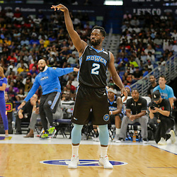 Aug 25, 2019; New Orleans, LA, USA; Power player Jeremy Pargo (2) after hitting a four point play against Killer 3's during the Big Three Playoffs at the Smoothie King Center. Mandatory Credit: Derick E. Hingle-USA TODAY Sports